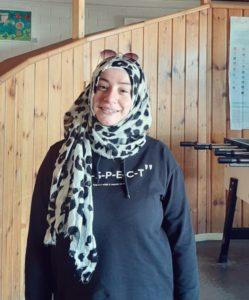 Zeynep Deniz als Verantwortliche für den Mädchenbereich