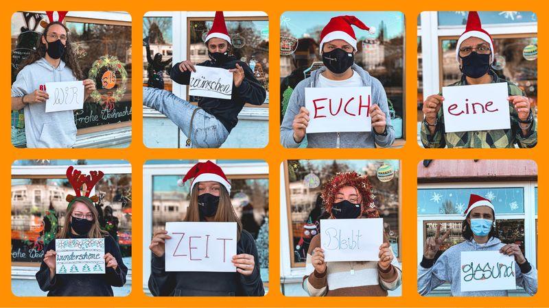 Das Jugendhaus Team wünscht frohe Weihnachten
